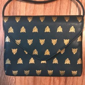 Adorable Tiger Clutch with Strap